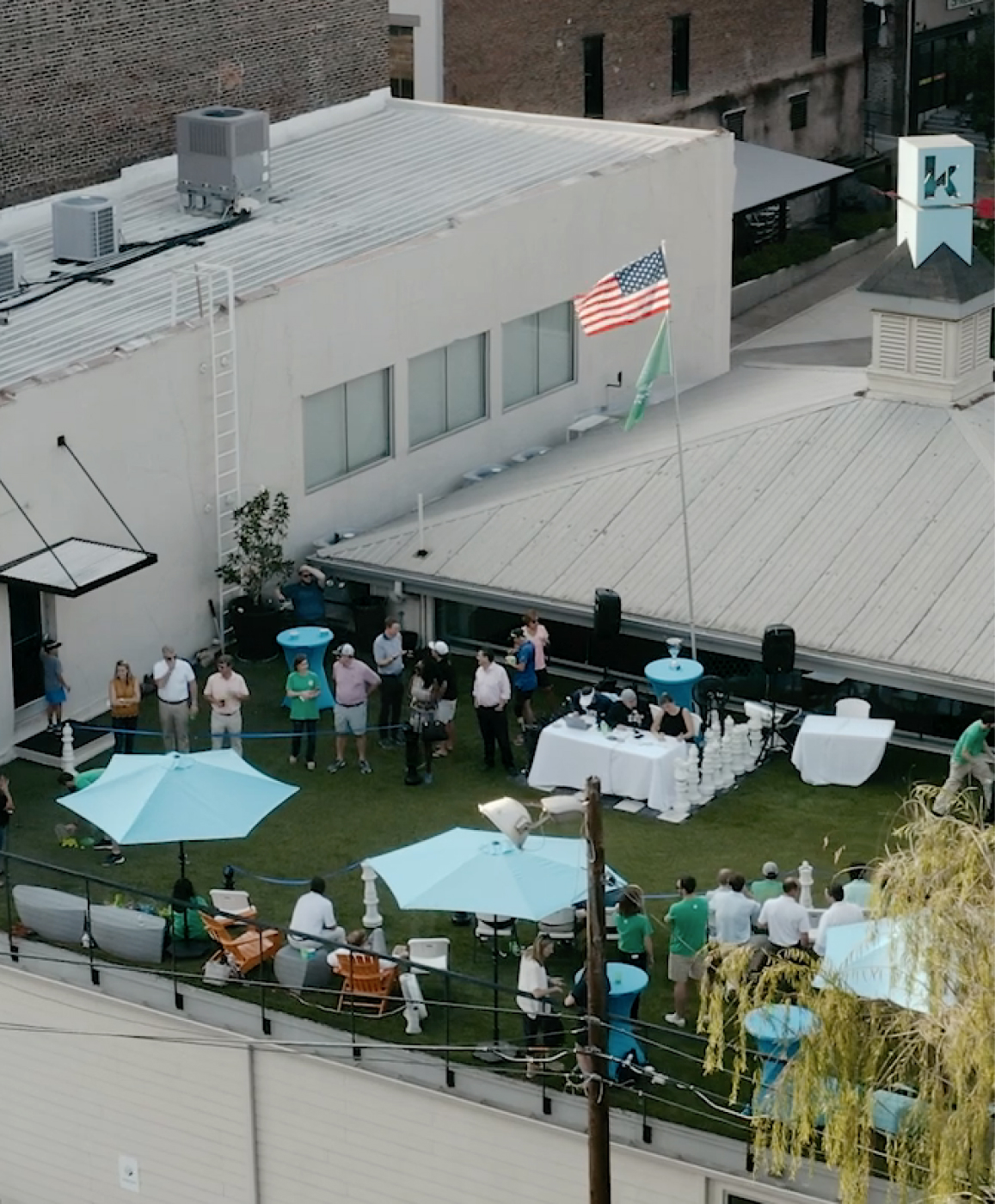 The Kinetic Cup - Rooftop Golf Shootout